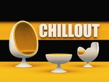 Fototapety Chillout egg chair