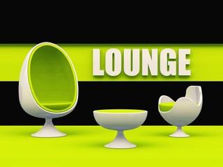 Lounge egg chair