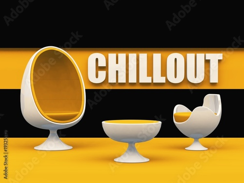 Chillout egg chair