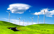 Alternative energy, windmill