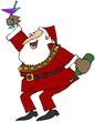 Celebrating Santa