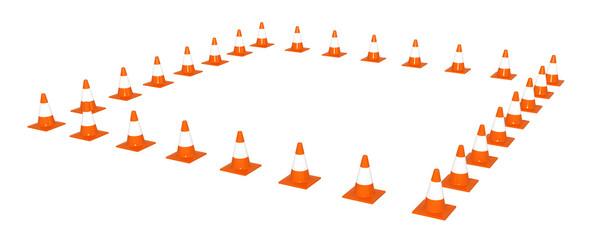 Traffic Cone Square
