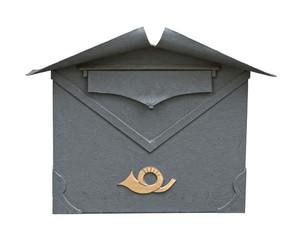 European classic mailbox cutout