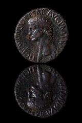AncientCoinReflection-Tiberius