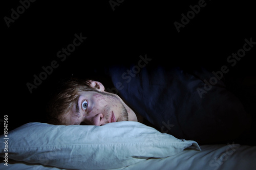 Leinwanddruck Bild Insomnia