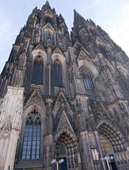 Kölner Dom, Westportal, Nordturm, Südturm