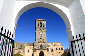 Kathedrale in Arcos de la Frontera