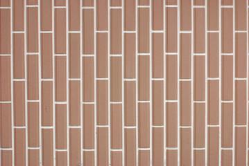 background,mosaic brick,brown.