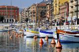 Port de Nice en France dans les Alpes Maritimes
