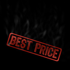 best price, stamp for promotion