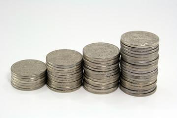 zweifranken Münzen