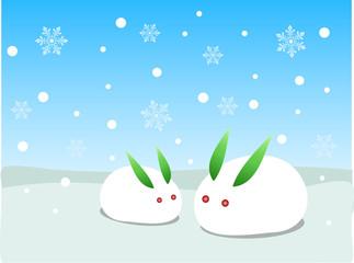 雪の日の光景