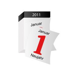 Jahreswechsel 2010/2011