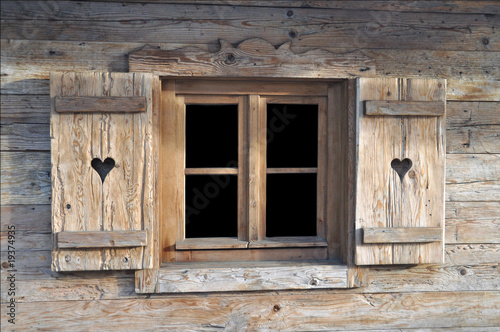 Fototapete alte Gebäude - alte Konstruktion - Wandtattoos - Fotoposter - Aufkleber