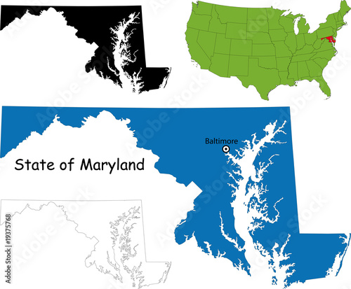 State of Maryland, USA