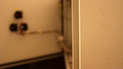 Opening a locker