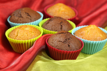Sweet muffin cakes