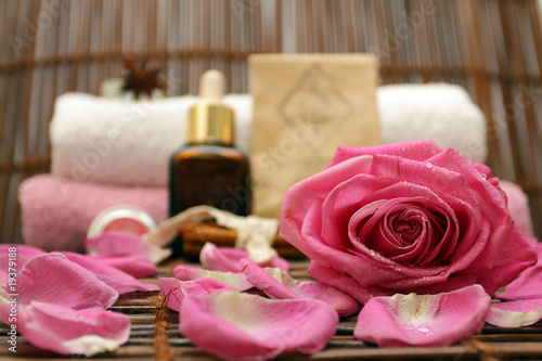 Rose and spa products