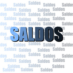 Saldos Azul Degrade