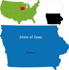 State of Iowa, USA