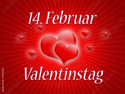 14 februar valentinstag von coloures pic lizenzfreies. Black Bedroom Furniture Sets. Home Design Ideas