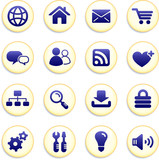 Internet Icons Buttons