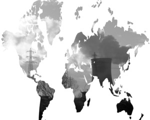 monde pollué