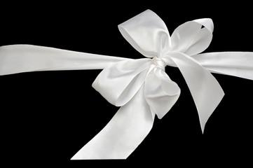 White bow.