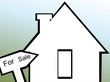 Illustration of silhouette of a house