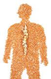 Pain in the back (burst popcorn) poster