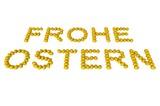 Oster-Schriftzug Gold