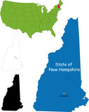 State of New Hampshire, USA