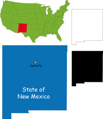 State of New Mexico, USA