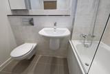 Moderná kúpeľňa detail