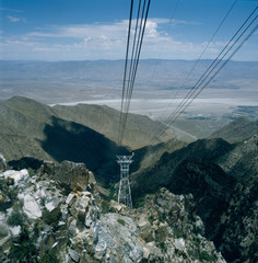 Mount San Jacinto,Palm Springs Seilbahn, Californien, USA