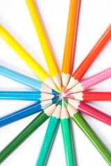 Circle of pencils