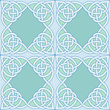 Seamless celtic; EPS; backgrounds, fabrics poster