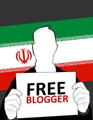 iranian free blogger
