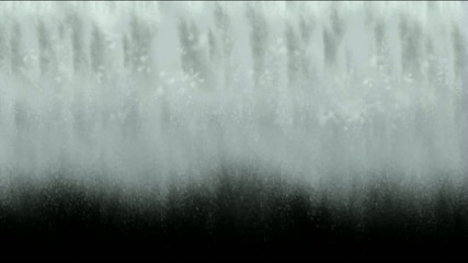 waterfall or avalanches scene-digital animation
