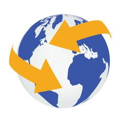 Erde Nachrichtenaustausch