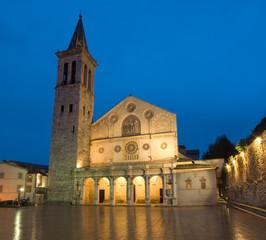 Duomo di Spoleto, Umbria, Italia