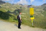 Furglerwanderung - hiking to mountain Furgler 05 poster