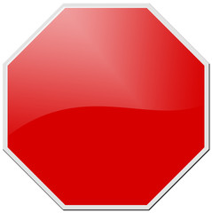 red stop