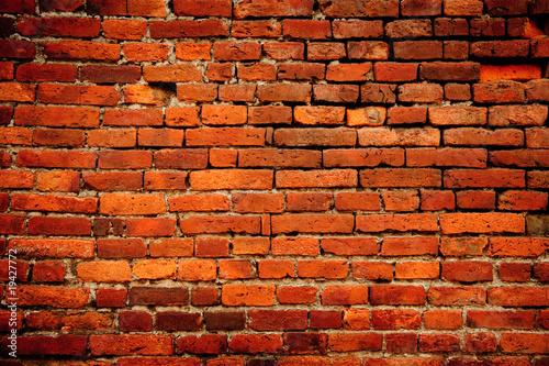 Foto op Plexiglas Wand brick wall of temple in taiwan