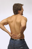 Lower back pain poster