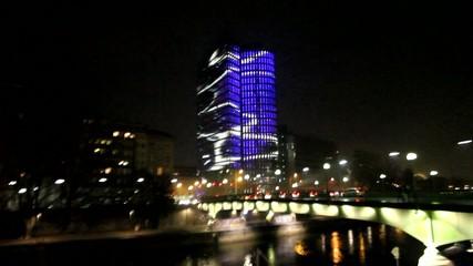 Lichtspiele im Nachtleben