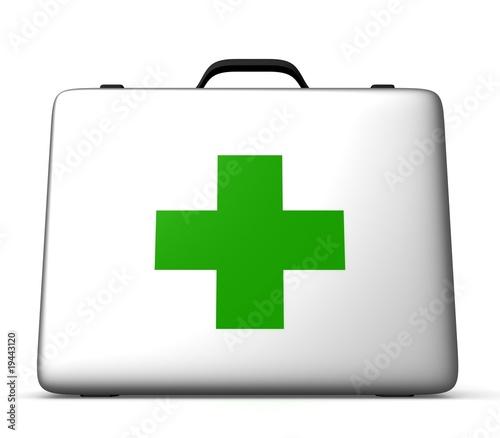 Медицинский чемоданчик; иллюстратор Алексей; иллюстрация 2025323.