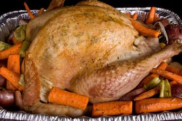 Close-up Golden Holiday Turkey