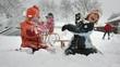 Kinder im Schnee - 19447303