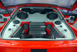 Leinwandbild Motiv Car audio system